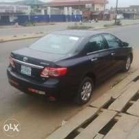 A clean and neatly used 2012 Toyota Corolla, v4, ac, auto, 6cd, alloy