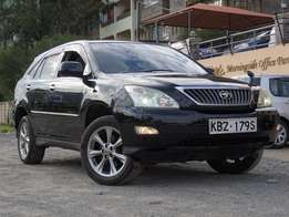 Super clean black Toyota harrier alcantara edition 2008,fully loaded