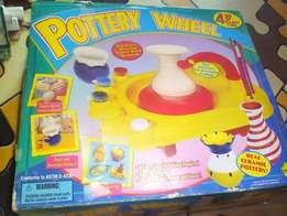 pottery wheel that makes real pots for kids 6 and up call me on