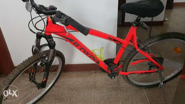 Cycle sparingly used