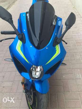 Available here suzuki gsxr1000cc 2017 and hayabusa 2005 gray color الباحة -  1