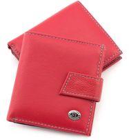 7c5fd8506899 Женский Кожаный маленький кошелек с монетницей ST Leather из турция