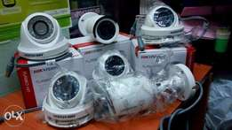8 CCTV cameras security system for home and business