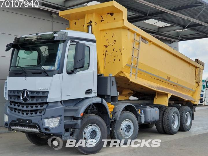 Mercedes-Benz Arocs 4142 K 8X4 Manual 25m3 Euro 6 - 2016