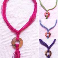 Moroccan style String Necklace - 42 cm