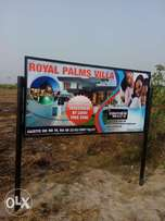 Cheapest plots of gazetted land in Royal Palm Estate in Lagos