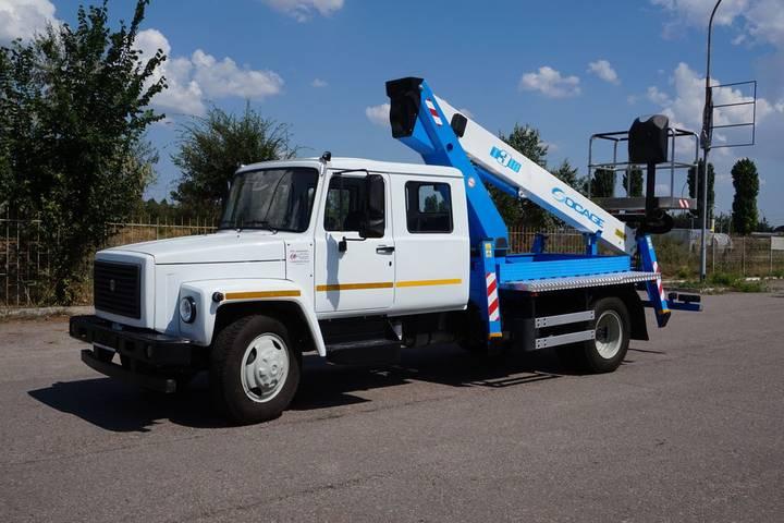 Socage T318 на шасси ГАЗ-33098 - 2019