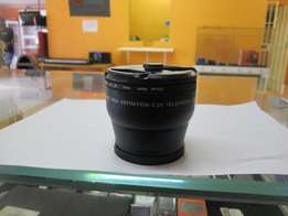 Digital High Definition 2.2X Telephoto Lens in Good Condition