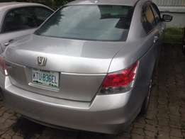 Honda Accord 2009 Silver less than 3 month used Tin can cleared N1.8m