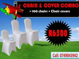 Chair and cover combo