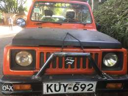 Suzuki samurai lifted