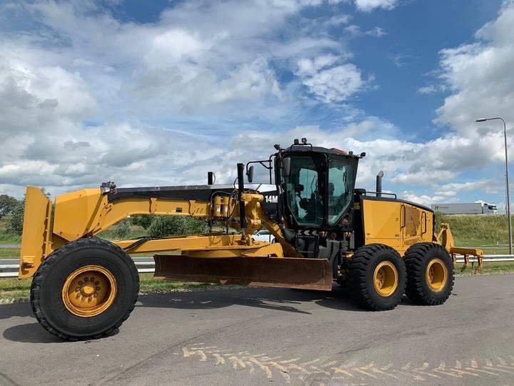 Caterpillar 14M Motor Grader MS ripper + Pushblock - 2013