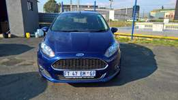 ford fiesta 5-door 1.0t trend auto, Cloth Upholstery, SHatch back,
