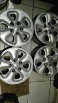 Mazda mags 15 inch 5/114pcd