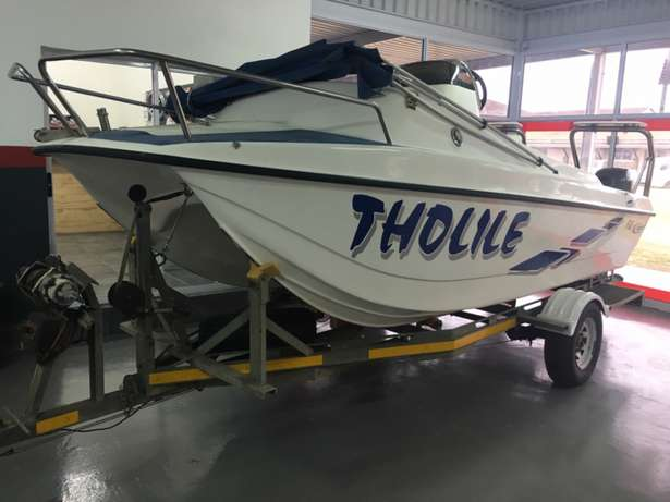 F16 Z-Craft with 2 x 40 hp Yamaha motors for sale Richards Bay - image 1