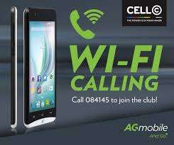 Cell C Wi Fi calling Mobile Phone AG Style Mayfair - image 1