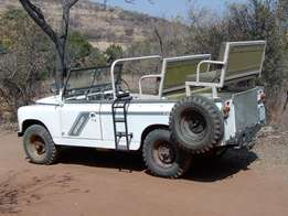 Landrover Series 2 Game Drive Vehicle