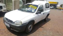 Opel corsa lite with canopy low km