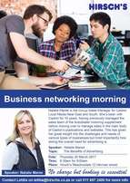 Hirsch's Meadowdale: Business Networking Morning