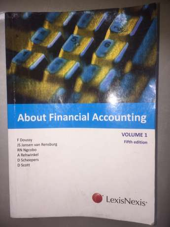 about financial accounting volume 1 fifth edition Lexis Nexis F dousy Tongaat - image 1