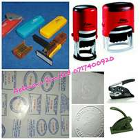Mugs,Rubber stamps,Company seals,signages,receipt books,printing