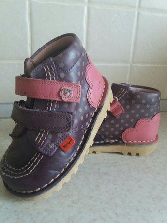 Взуття дитяче шкіряне KicKers ee6e43d14559d