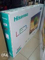 50inches Smart TV Hisense Full HD.Cash on delivery.Warranty included