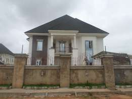 Fabulous 100% modern detached 6bedrm duplex for sale in asaba.