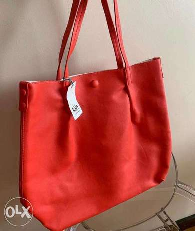NEW Red Kin by John Lewis Bag