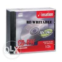 Rewritable CDs,normal CDs and DVDs Imation and princo