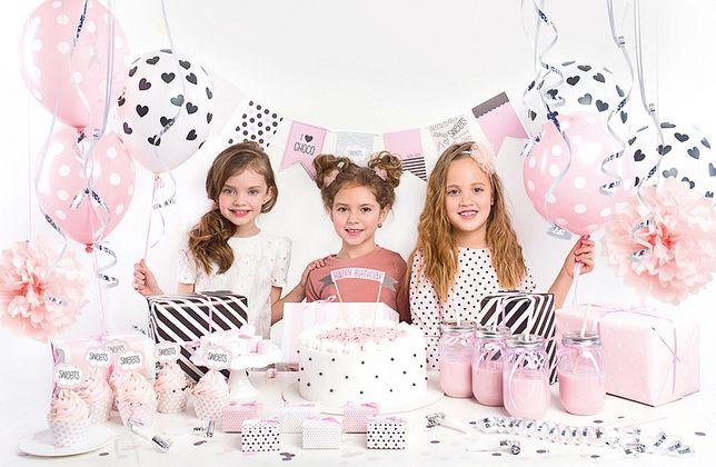 Zestaw Urodzinowy Dla Dziewczynki Dekoracje Urodzinowe Złotów Olxpl