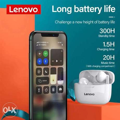 Lenovo Wireless Earphone XT90 TWS Bluetooth 5.0 Touch Button 300mAh الرياض -  3