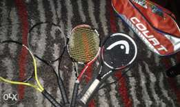 Tennis Racket's for sale