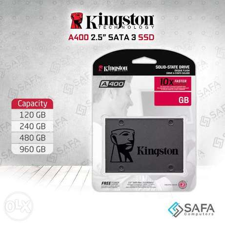 Kingston SSD A400 Multiple Capacities.1