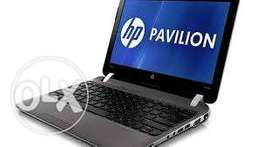 Hp pavilon G1 laptop 320gb 2gb webcam wifi bluth