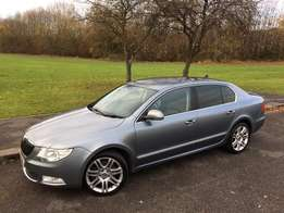 2010 Skoda Superb 3.6-litre 260bhp engine permanen four wheel drive