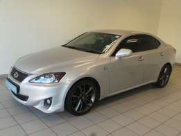 Silver - Top of the Range-Lexus IS 250 F-Sport