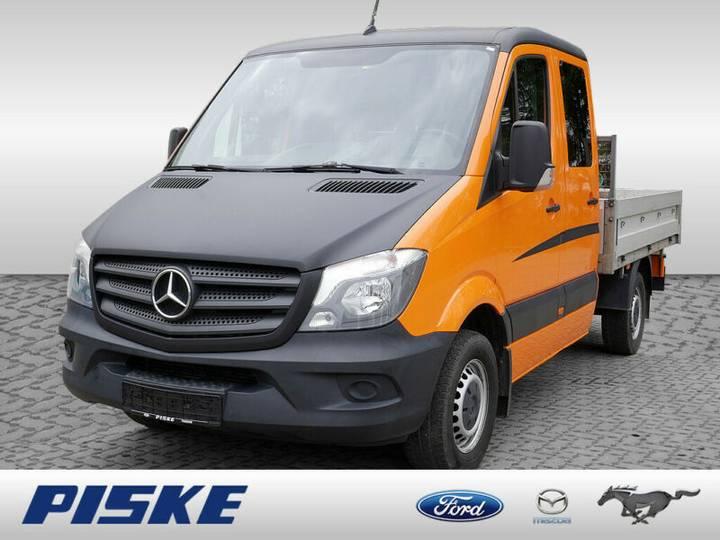 Mercedes-Benz Sprinter 313 CDI DoKa Pritsche AHK - 2014