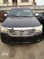 Toyota Hilux 2012 neatly used bullet proof