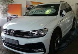 Volkswagen New Spec Tiguan R-Line 2.0 TDI Manual