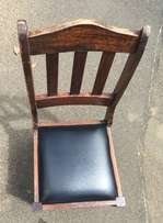 5 Wooden Chairs (R50-00 each)