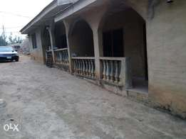 2 bedroom flat for rent with water running inside at oda road akure
