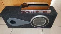 Rockford Fosgate 12 inch Subwoofer and 4000w Amplifier