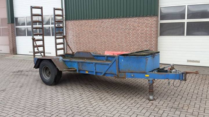 inrijwagen low loader