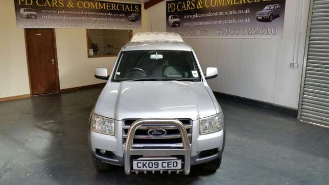 Ford Ranger Double Cabin 2010. Ex-UK Manual - 4WD 2500cc Diesel Mtwapa - image 2
