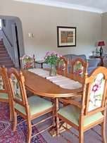 Chairs dining room 2 x carvers, 4 x dining - PRICE IS PER EACH NOT SET