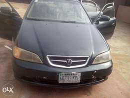 Registered Acura TL 2000.
