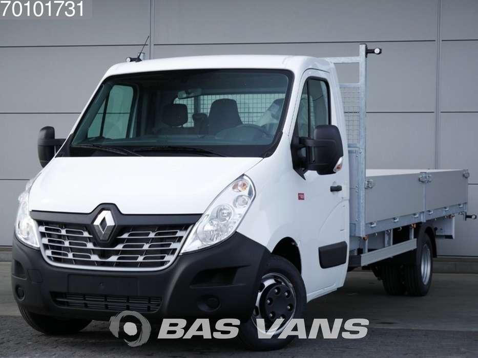Renault Master Open laadbak 165PK Dubbellucht Navigatie Airco 350... - 2018