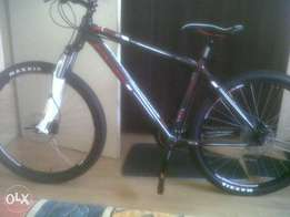 New Silverback bicycle
