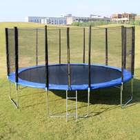 16 Feet Trampoline with Safety Net and Pad Ladder Brand New